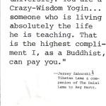 reg+hartt Crazy Wisdom