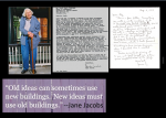 Not many got a fan letter from Jane Jacobs. I got several.