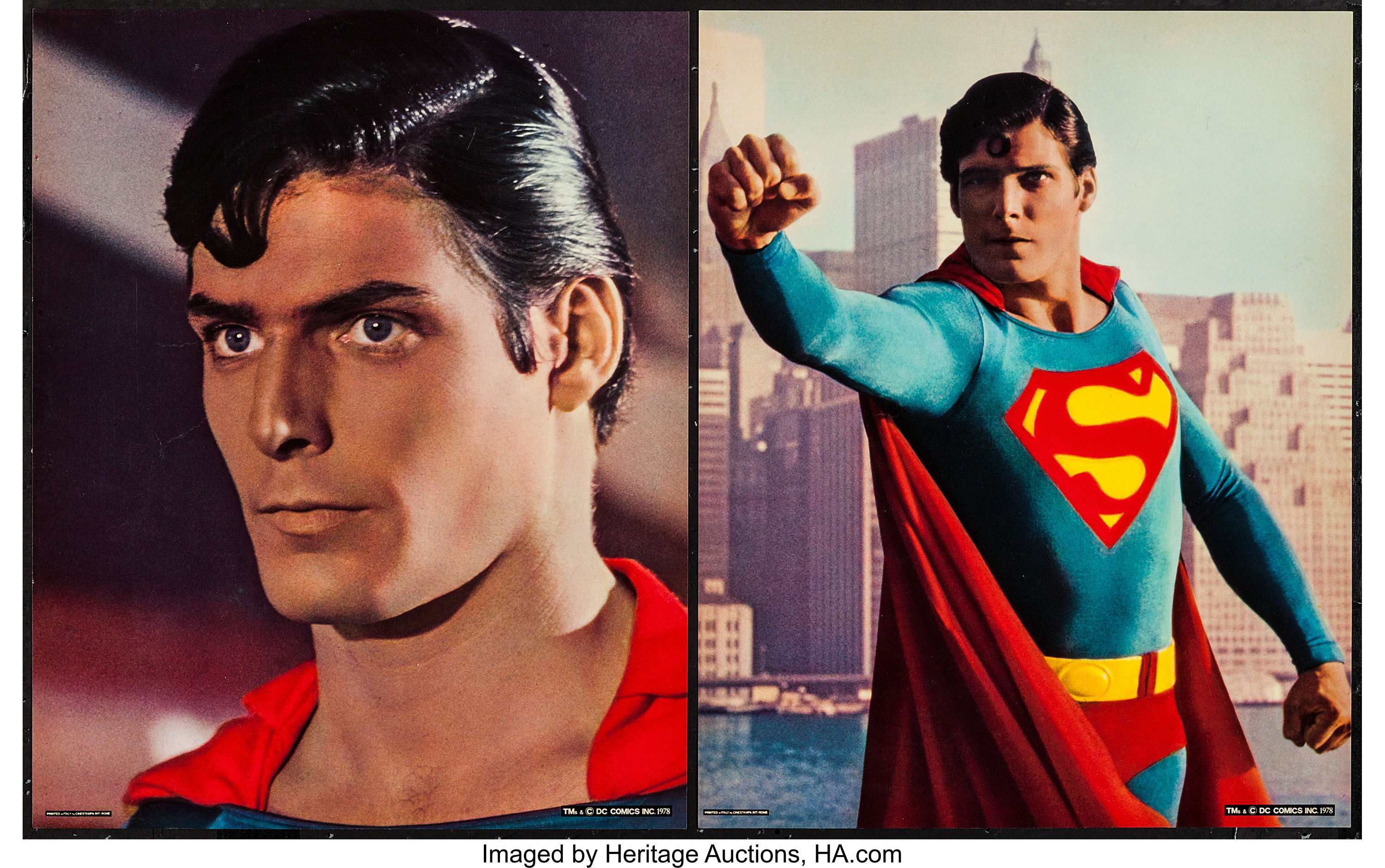 Superman-the-Movie-Warner-Brothers-1978 -Deluxe-Jumbo-Lobby